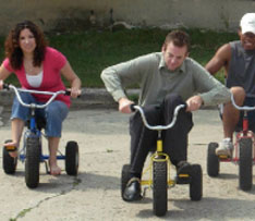 Adult Tricycle Racing