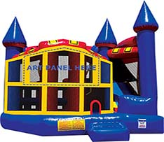 Primary 5n1 Combo Bounce House