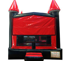 Red & Black Bounce House