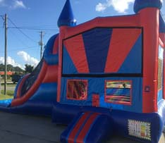 Red Combo Bounce House